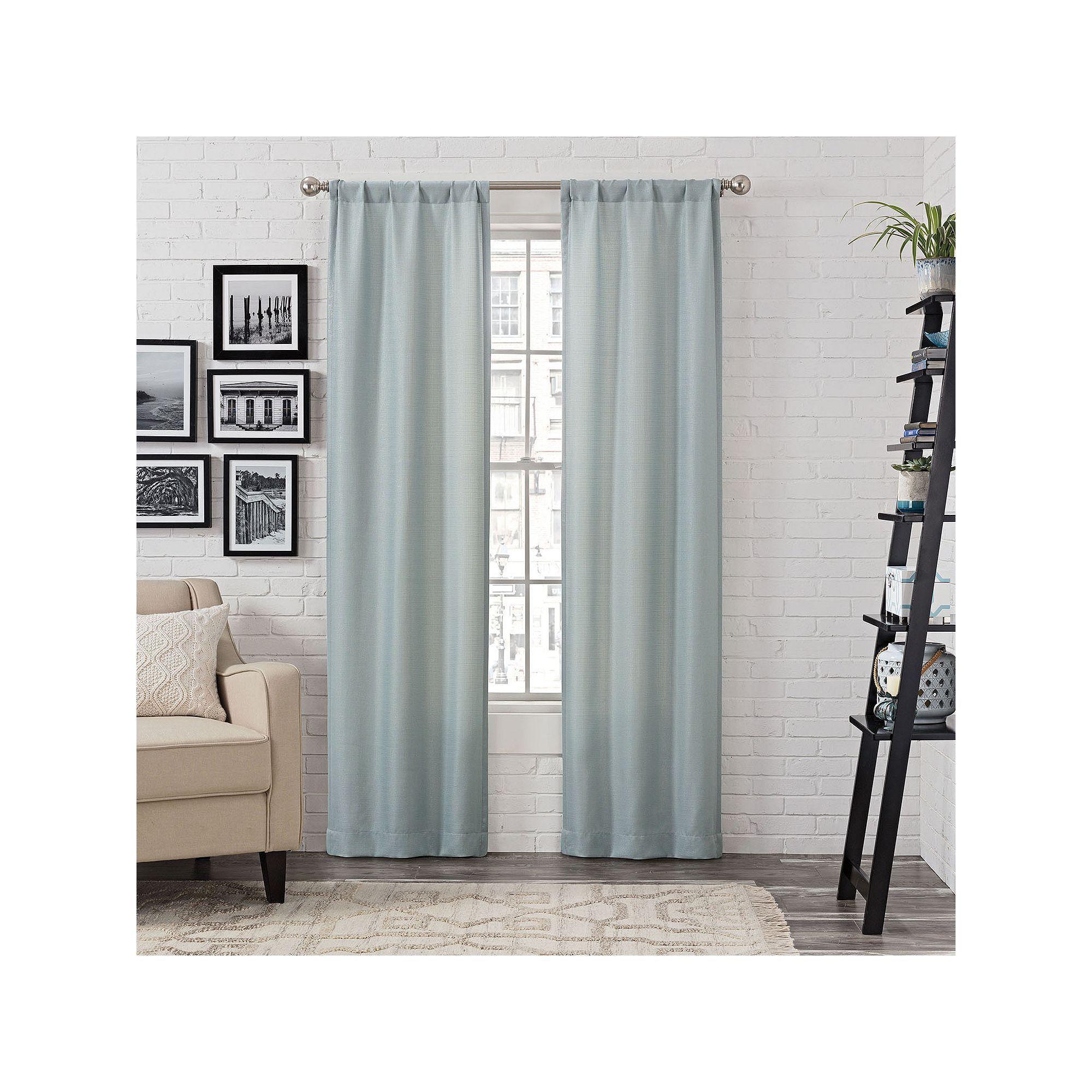 Garden window coverings  pairs to go ibiza metallic window curtain set  products
