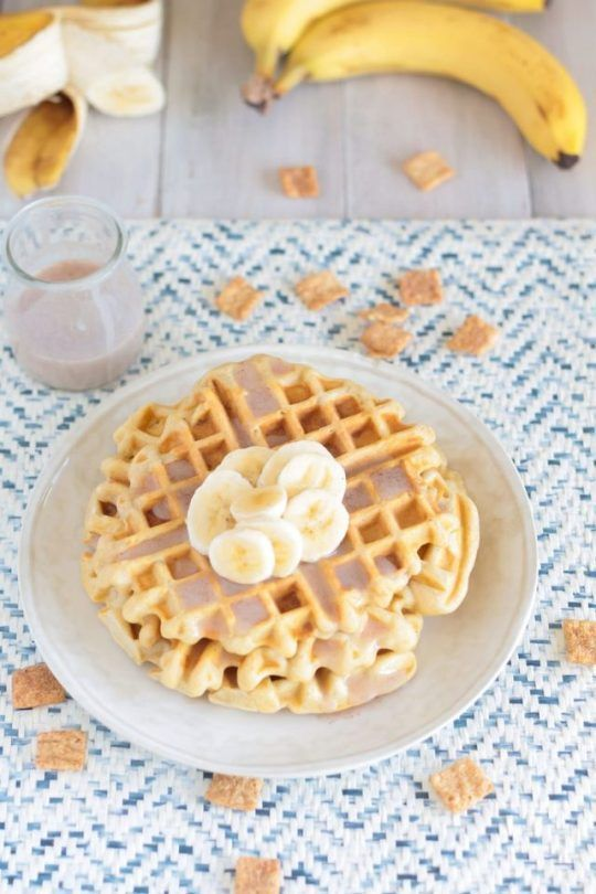 Cinnamon Toast Crunch Waffles with Cereal Milk Glaze #cinnamontoastcrunch Cinnamon Toast Crunch Waffles with Cereal Milk Glaze: Cinnamon Toast Crunch Waffles are a playful, nostalgic breakfast, with cereal pieces mixed right into the waffle batter and a cereal milk glaze! #cinnamontoastcrunch Cinnamon Toast Crunch Waffles with Cereal Milk Glaze #cinnamontoastcrunch Cinnamon Toast Crunch Waffles with Cereal Milk Glaze: Cinnamon Toast Crunch Waffles are a playful, nostalgic breakfast, with cereal #cinnamontoastcrunch