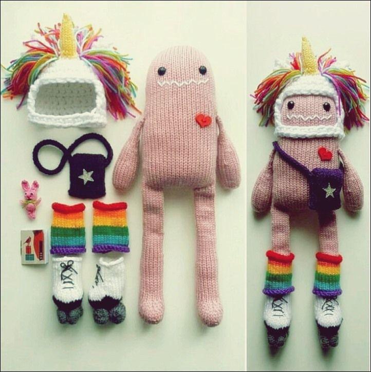 Kreatives Konzept Stricken - Free Knitting