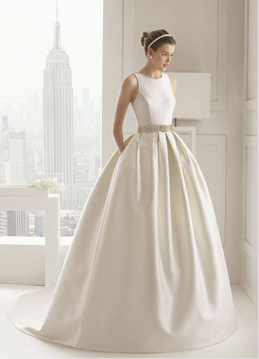 Rosa Clara Wedding Dresses Fit And Flare Wedding Dress Perfect Wedding Dress