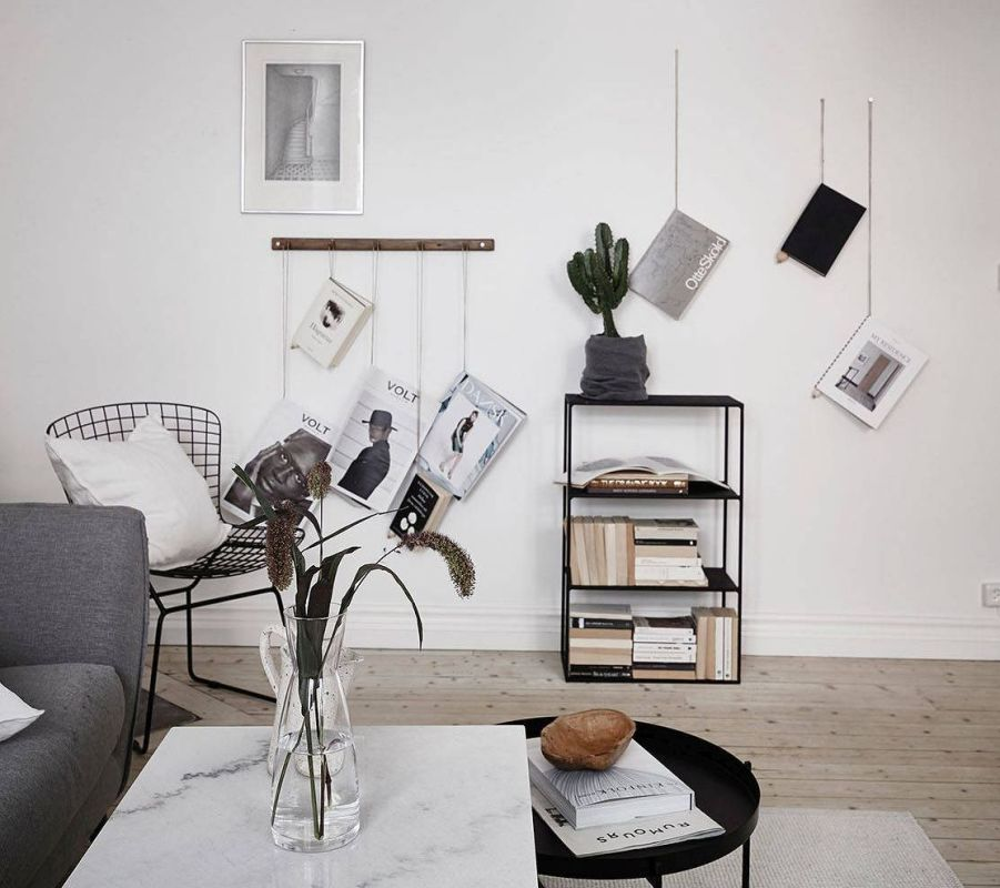 Ideas for Magazine storage | @KreaVilla