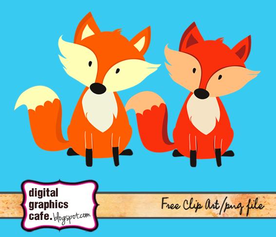 Fox clipart free graphics digital dowloads j bday pinterest fantastique ma tre renard - Clipart renard ...