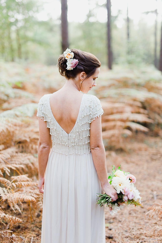Monsoon Wedding Dress Budget Wedding High Rocks Kent White Stag