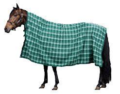 Saddles Tack Horse Supplies - ChickSaddlery.com Finn Tack Plaid Fleece Cooler <>