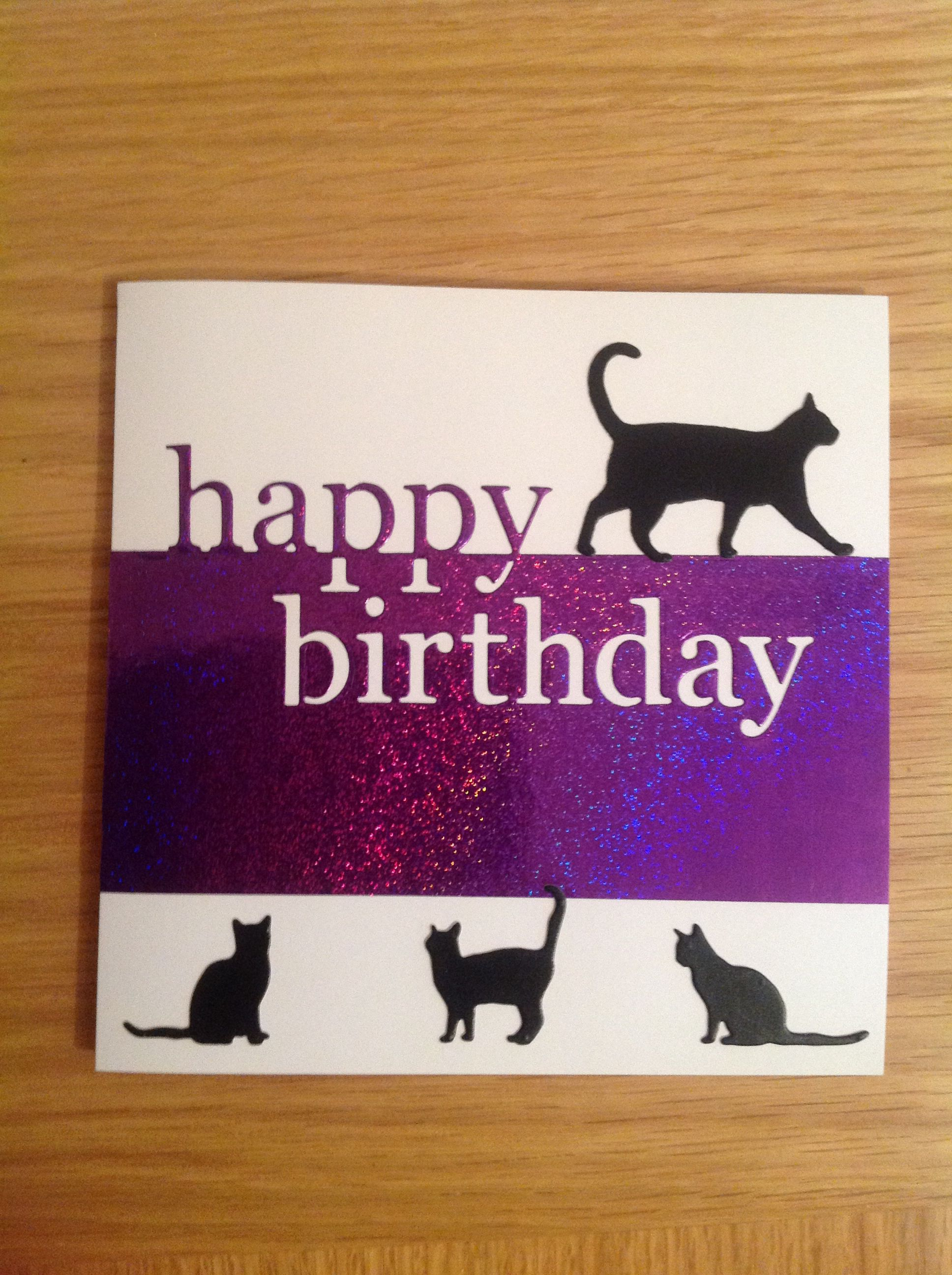 Memory Box Grand Happy Birthday Large Walking Cat Die And A Few