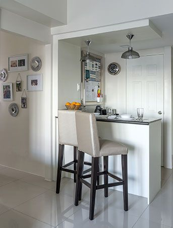 breakfast bar instead of kitchen island dining table extra countertop probably wi small on kitchen interior small space id=32381