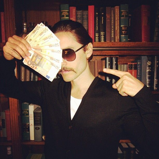 Rico Suave returns... -NOTES FROM THE OUTERNET - see more at JaredLeto.com - @jaredleto- #webstagram