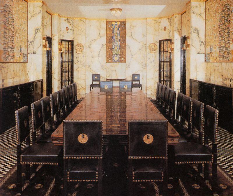 Chapter 20 vienna secession interior design dining for Interior design wien