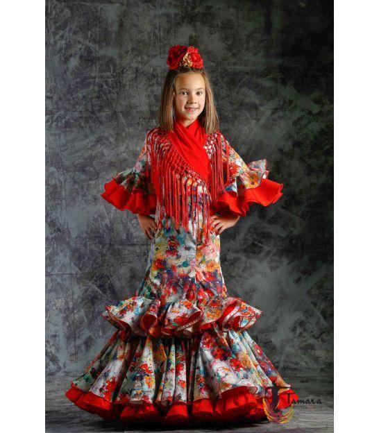 2b51ec3ebd trajes de flamenca 2019 nina - Roal - Vestido de gitana Quema ...
