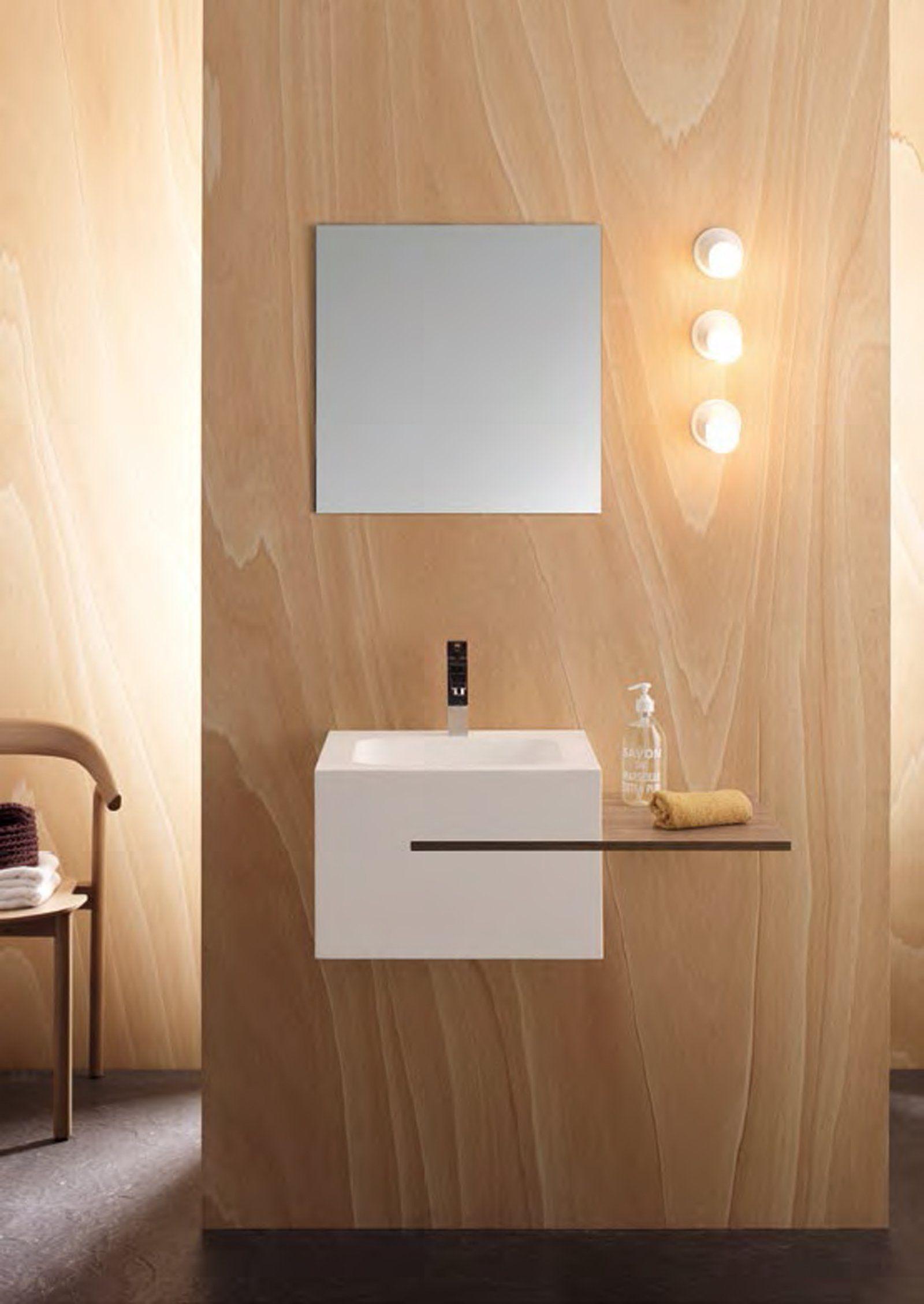 Mobili lavabo piccoli per risparmiare centimetri preziosi for Mobili piccoli bagno