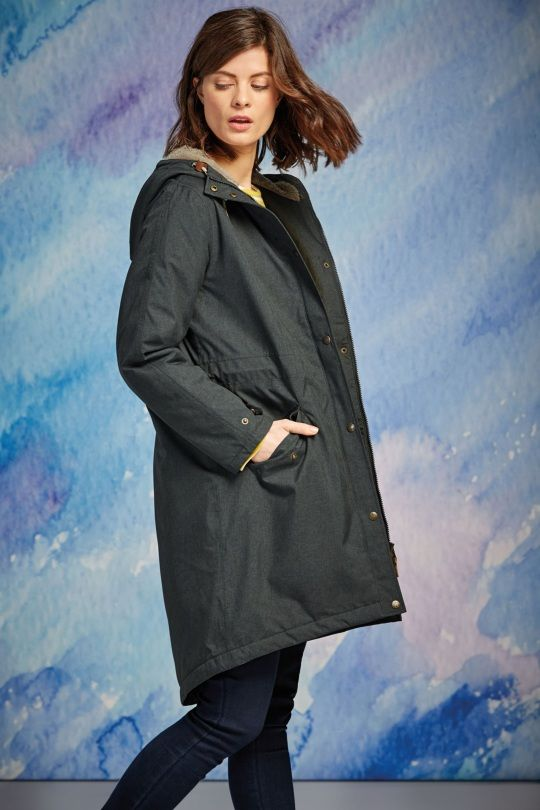 Plant Hunter Coat | Rain jacket women