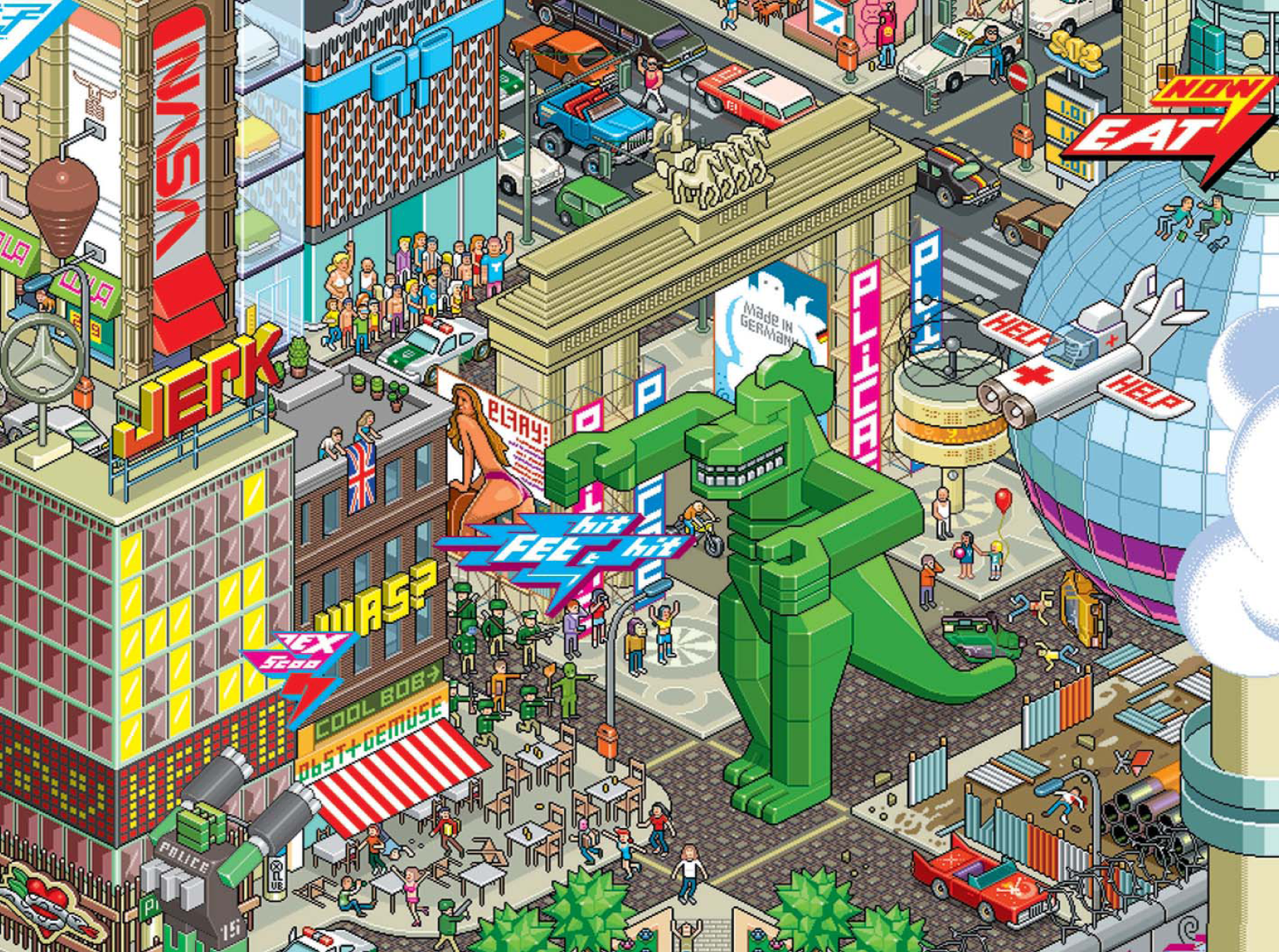 Gola eBoy Tokyo City Plan