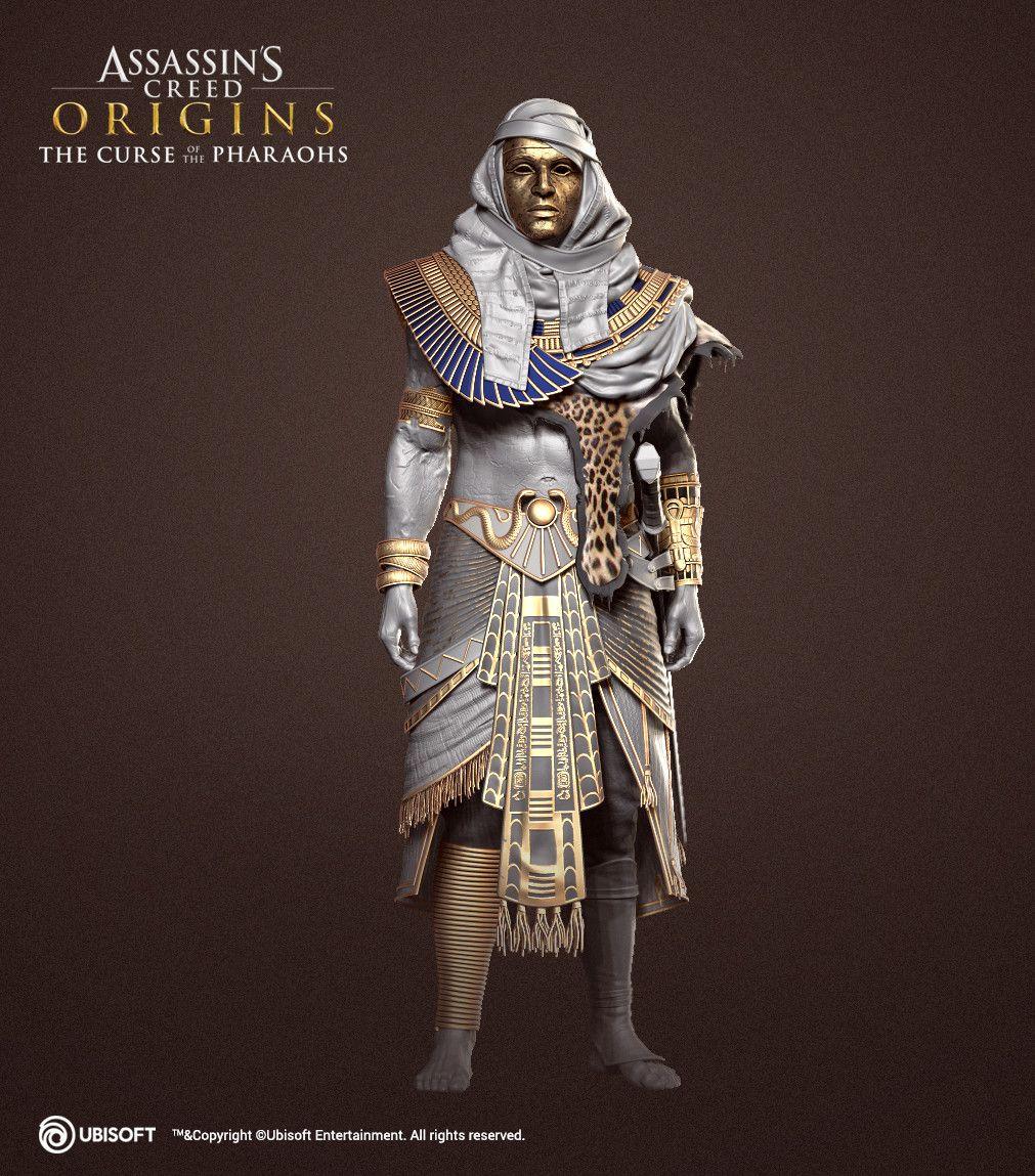 Ac Origins Curse Of The Pharaohs Com Imagens