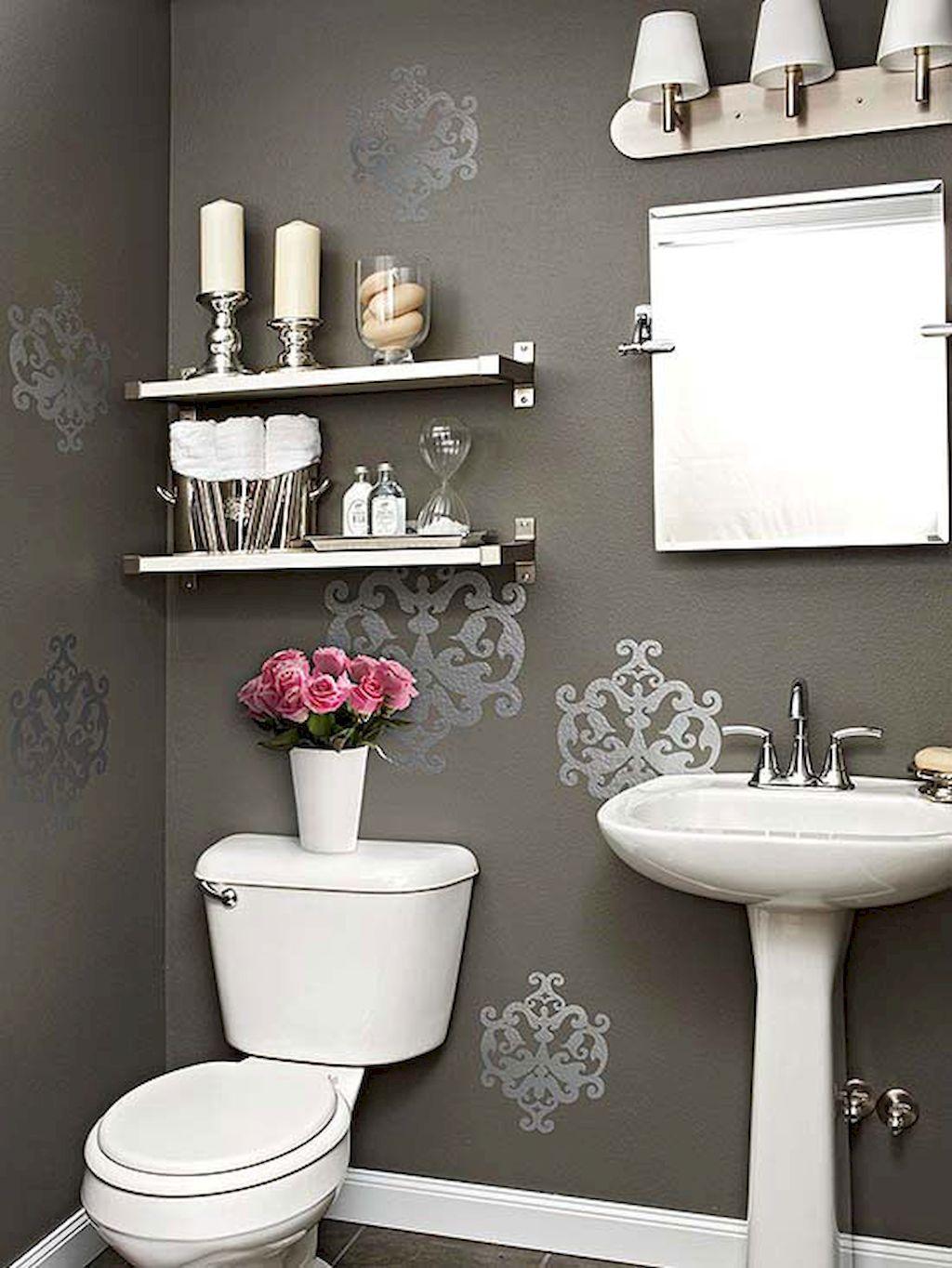 80 Small Powder Room Decorating Ideas