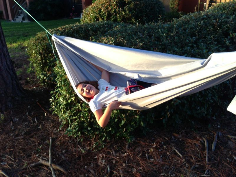How To Make A Hammock For Your Kids Skunkape Blog Good For Back