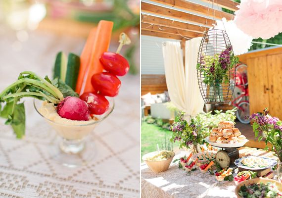 English Garden Themed Bridal Shower Photo By Caroline Frost