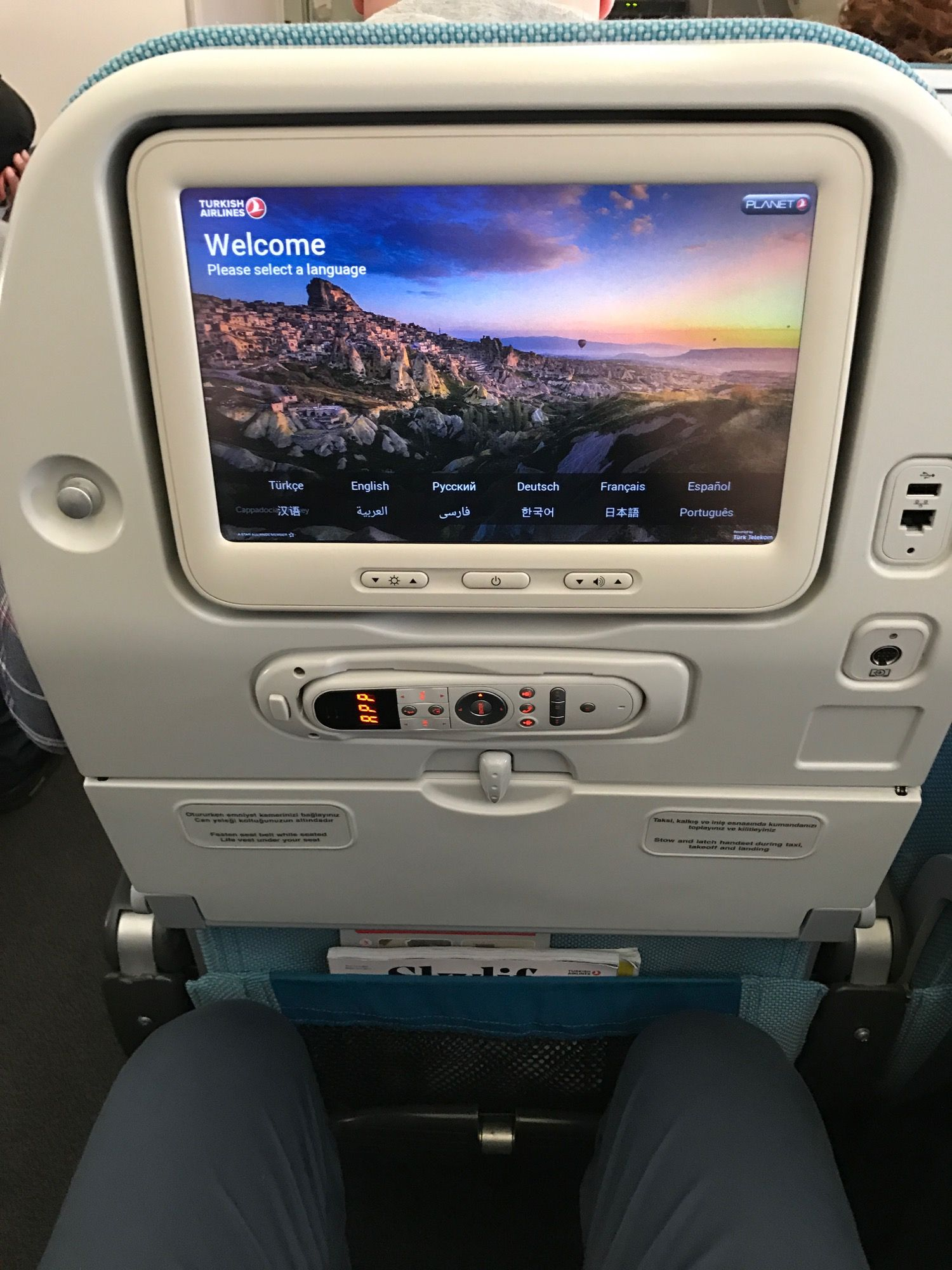 Review Turkish Airlines 777 300 Economy Class From Istanbul To Los Angeles Live And Let S Fly Turkish Airlines Airlines Economy