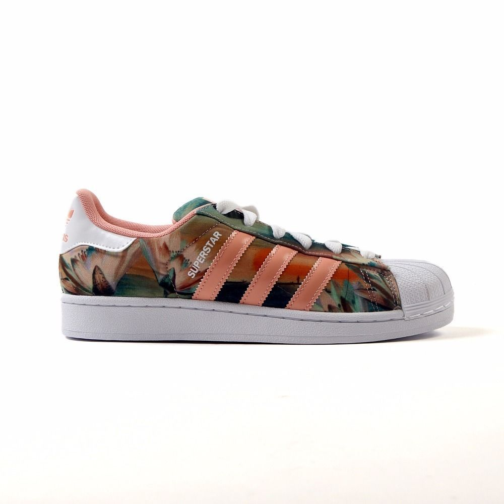 "Adidas Originals Superstar ""Farm Curso d'Agua"" Dust Pink Women's Shoes B35832  #adidas #AthleticSneakers"