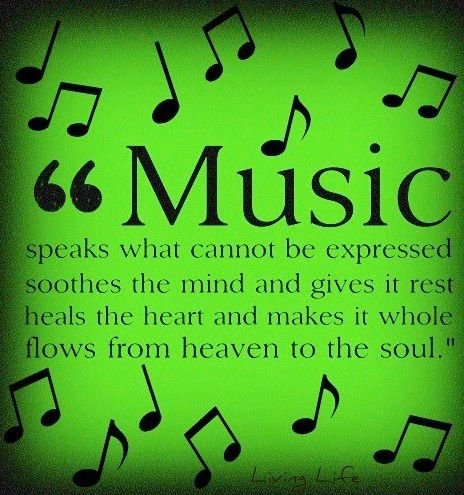 Music Quote Via Living Life At Facebooklivinglife2thefull