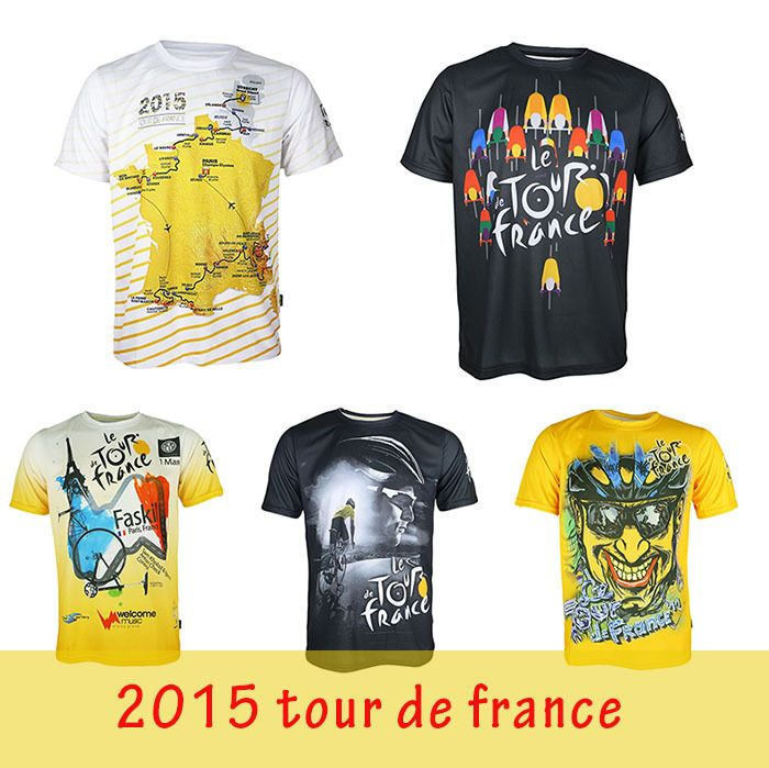 Tour De France Cycling Short Sleeves Quick Dry Jersey Bike Clothing Bicycle  Jerseys T Shirt Men Cycling Clothing f3e491ae7