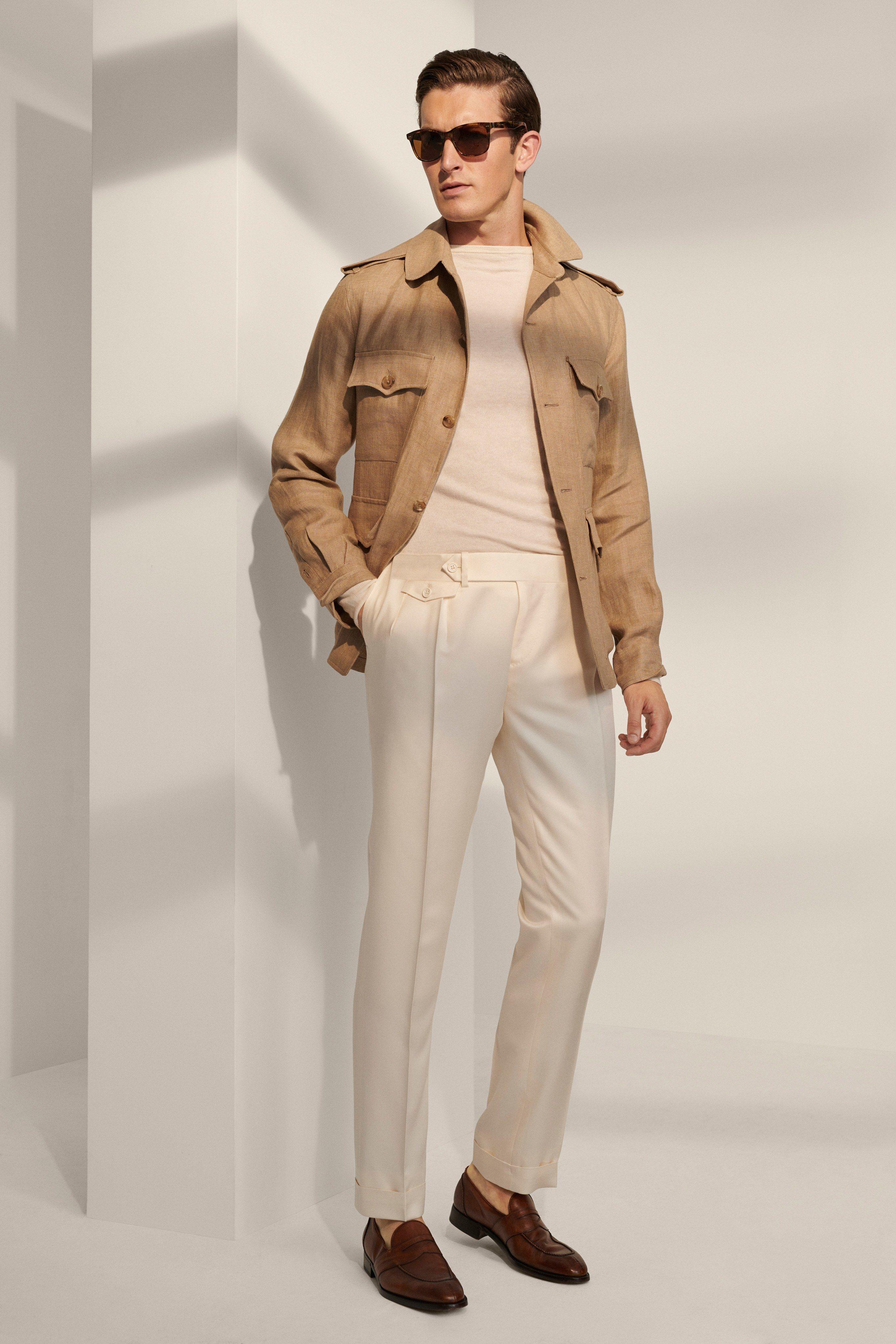 Ralph Lauren Spring 2020 Menswear Fashion Show Ralph Lauren Menswear Menswear Mens Outfits