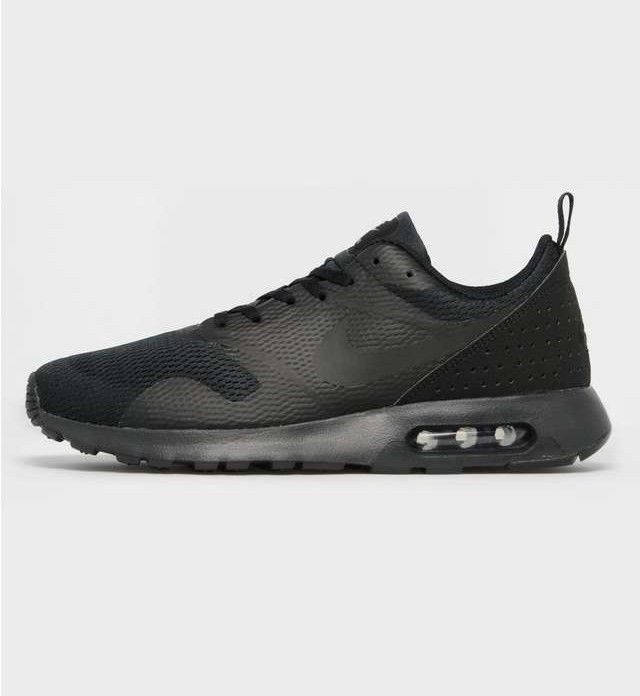 sneakers for cheap 91e16 31e15 ... coupon these streamlined air max tavas se trainers from nike are  constructed from all black textile