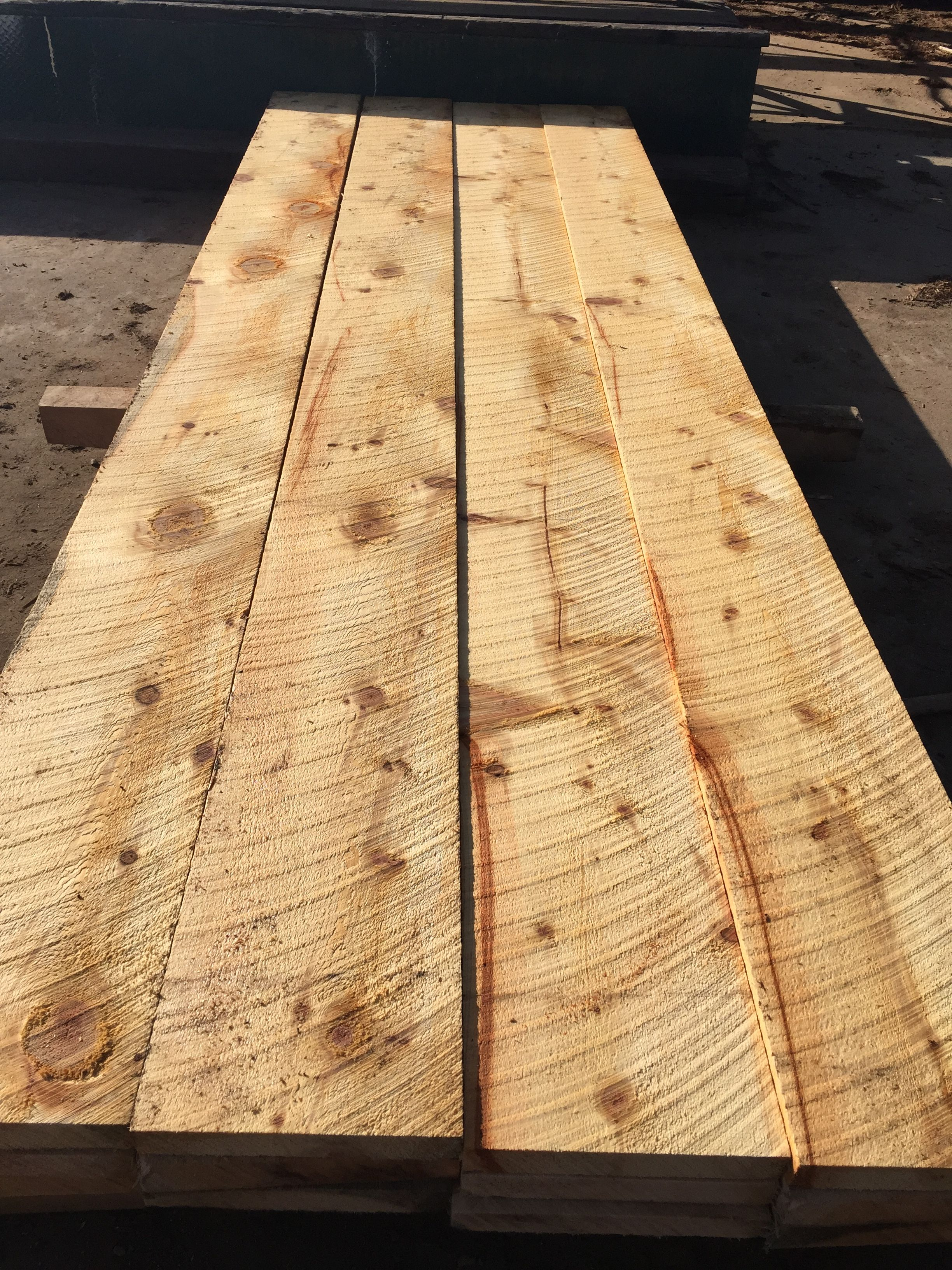This Is A Rustic Rough Cut Timber With The Saw Marks Still Showing