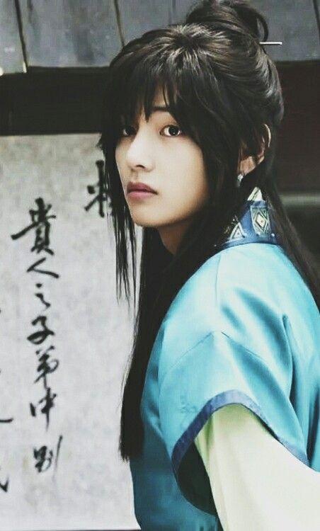 Tae/V as Hansung in Hwarang