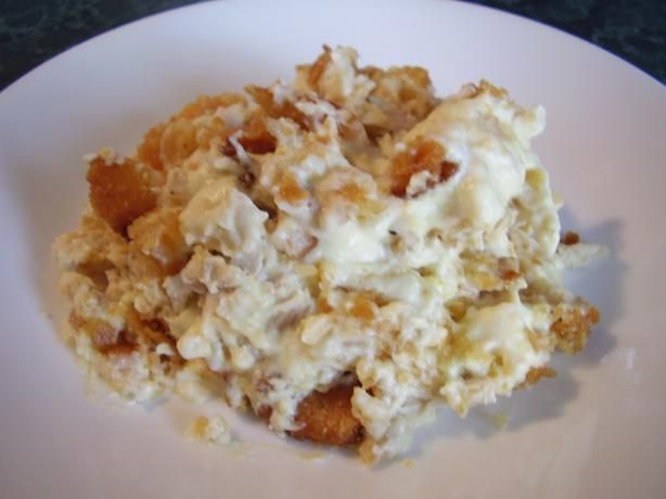 Easy Creamy Sour Cream Chicken Casserole Recipe Genius Kitchen Sour Cream Chicken Sour Cream Chicken Casserole Recipes
