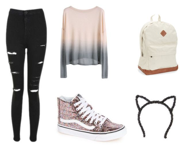Untitled #28 by silverstars101 on Polyvore featuring Topshop, Vans and Aéropostale