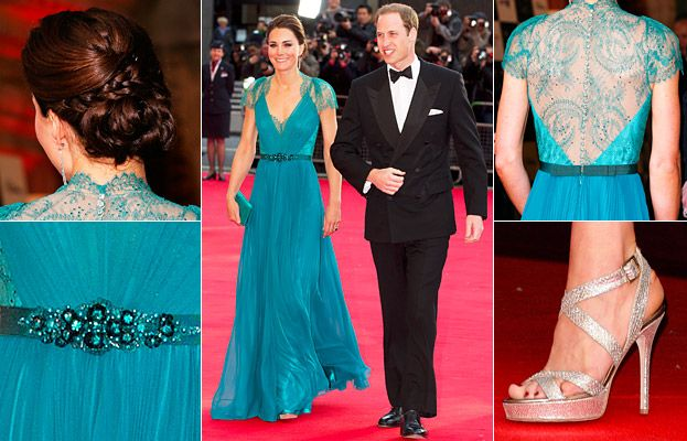 See #KateMiddleton's #JennyPackham gown from every angle! http://news.instyle.com/2012/05/11/kate-middleton-teal-jenny-packham-gown/