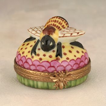 ≗ The Bee's Reverie ≗  Limoges Bee