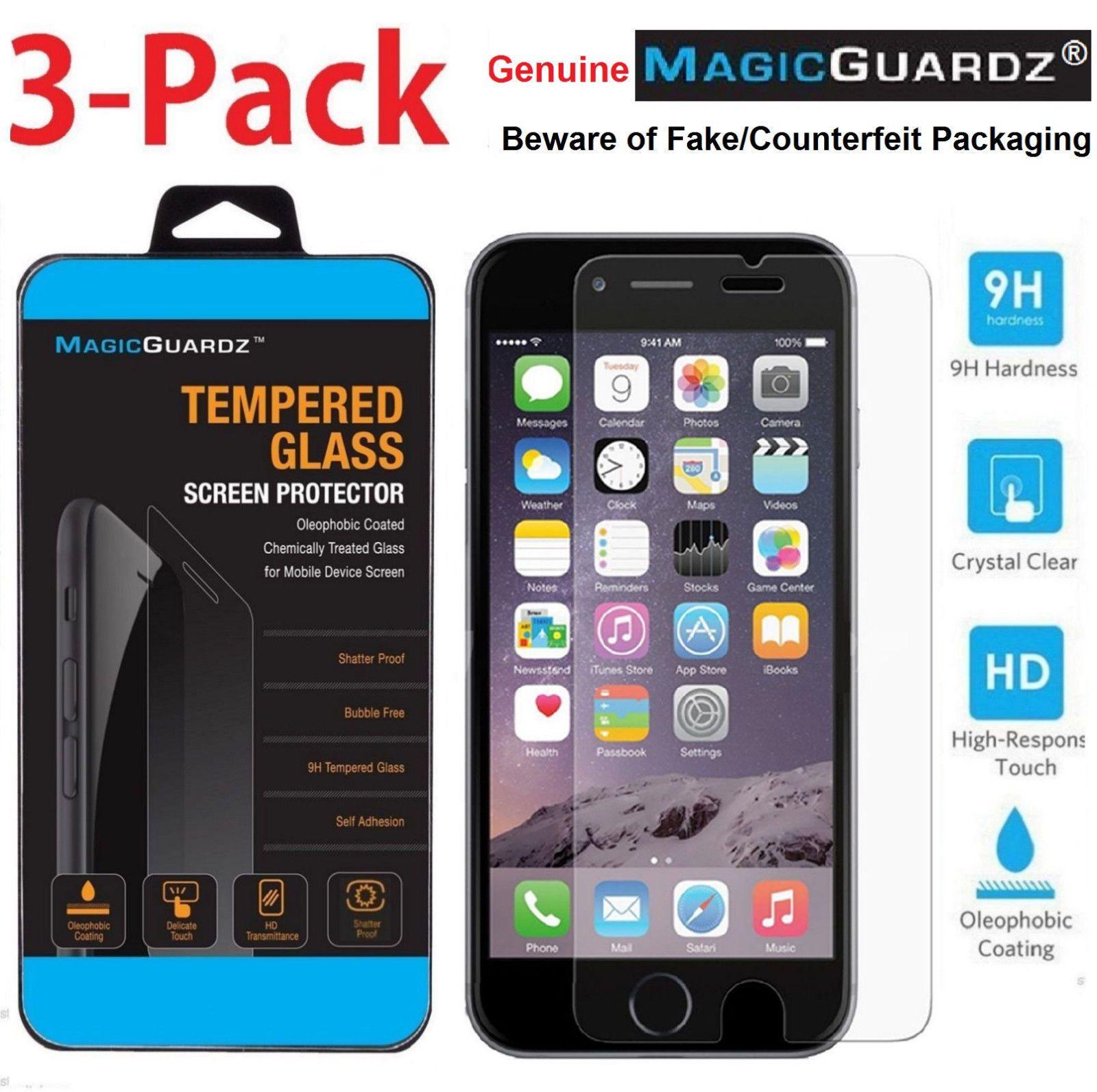 Details About Magicguardz Premium Tempered Glass Screen Protector