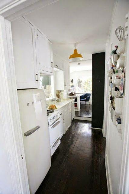 Cómo decorar cocinas alargadas Pinterest Te perdí, Cocinas y