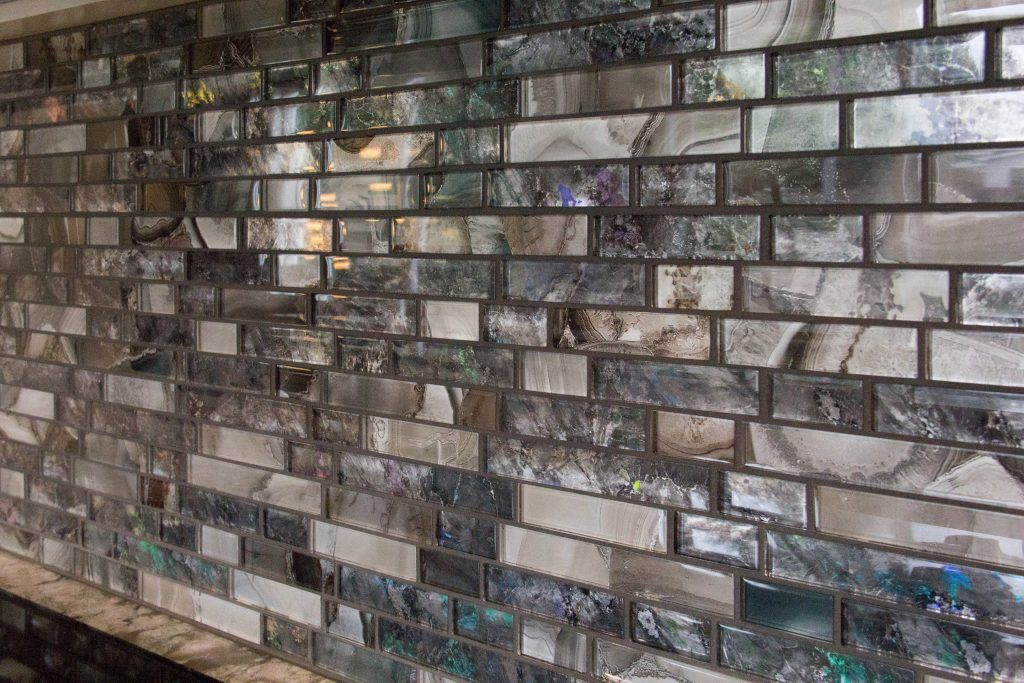 Backsplash 21st Century Tile 2nd Generation Glass Mosaic Grout
