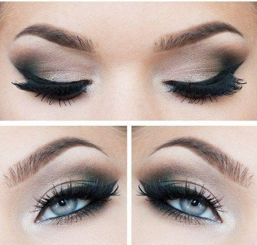 Sophisticated Eye Makeup Eyeliner And Crease Shadow Eyeshadow