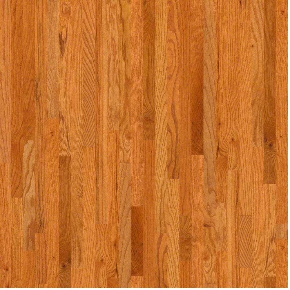 Shaw Take Home Sample Woodale Caramel Oak Solid Hardwood Flooring