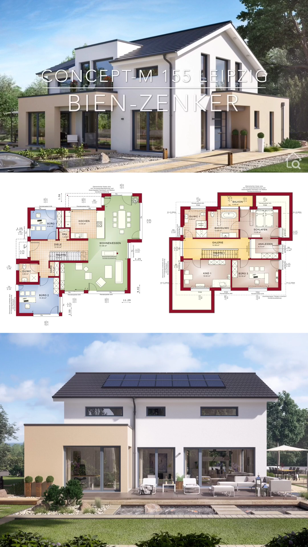 Modern Architecture Design House Plans & Dream Home Ideas with Open Floor Concept