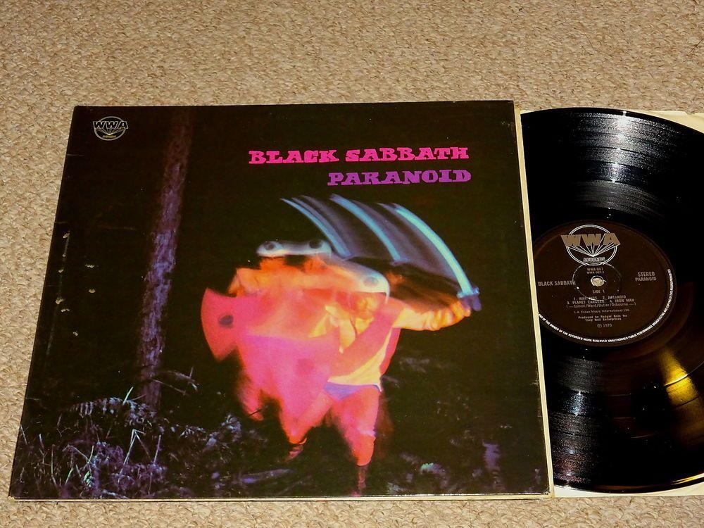 Black Sabbath Paranoid Uk Vinyl Lp Wwa 1y 2 2y 2 Black Sabbath Sabbath Vinyl