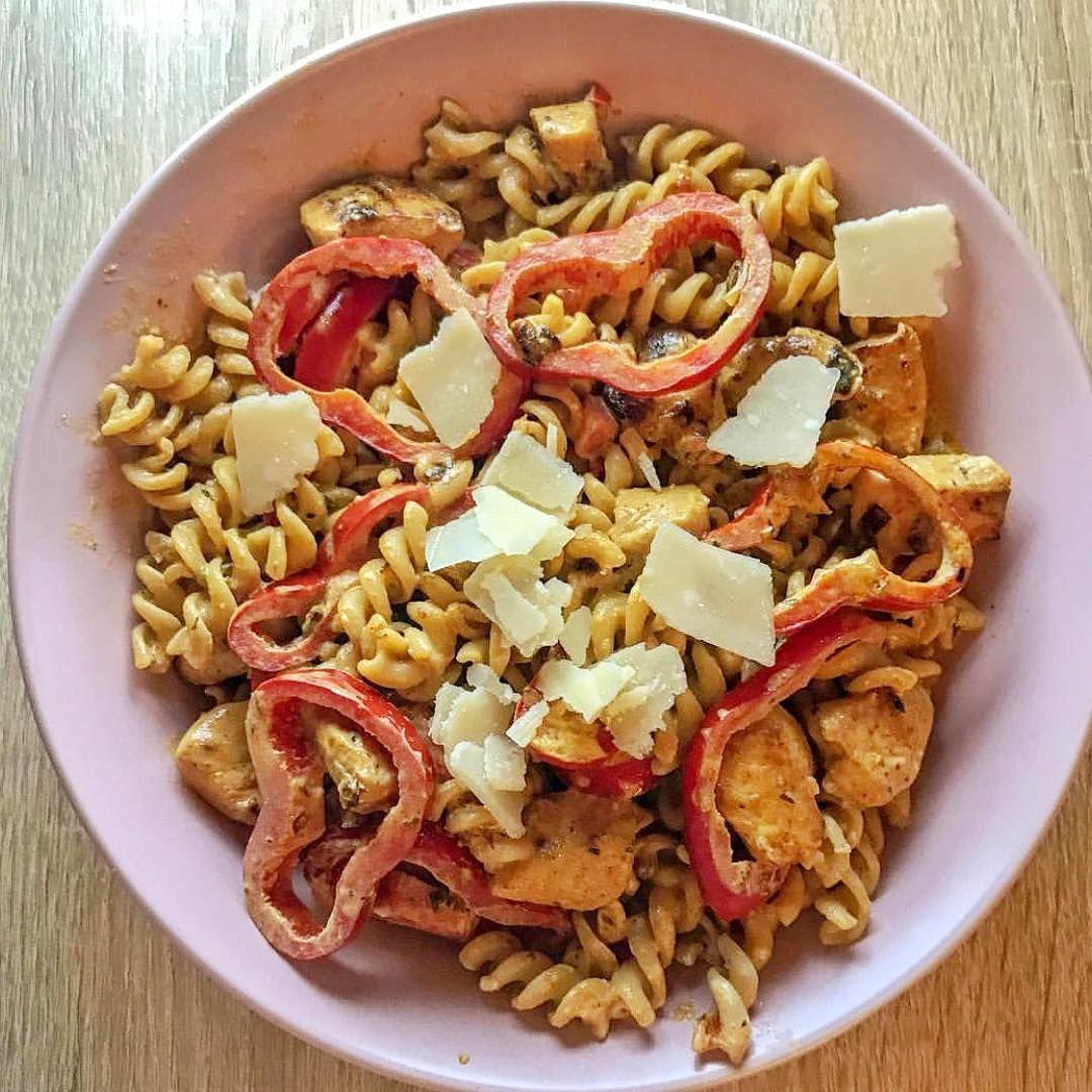 [Werbung] PowerDinner mit unserer Pasta mit Paprika Schaut die Portion von @pa_t... -