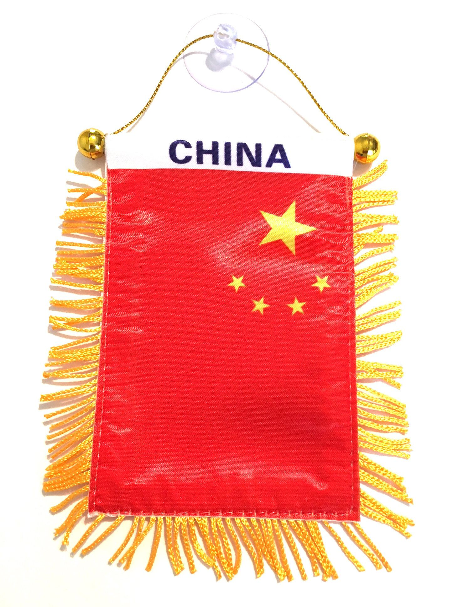 China Chinese Flag For Automobile Cars Home Small 4x6 Comes Etsy Chinese Flag China Flag Make Design