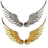 3D Angel Hawk Wings Emblem Badge Decal Logo Sticker For Any Car