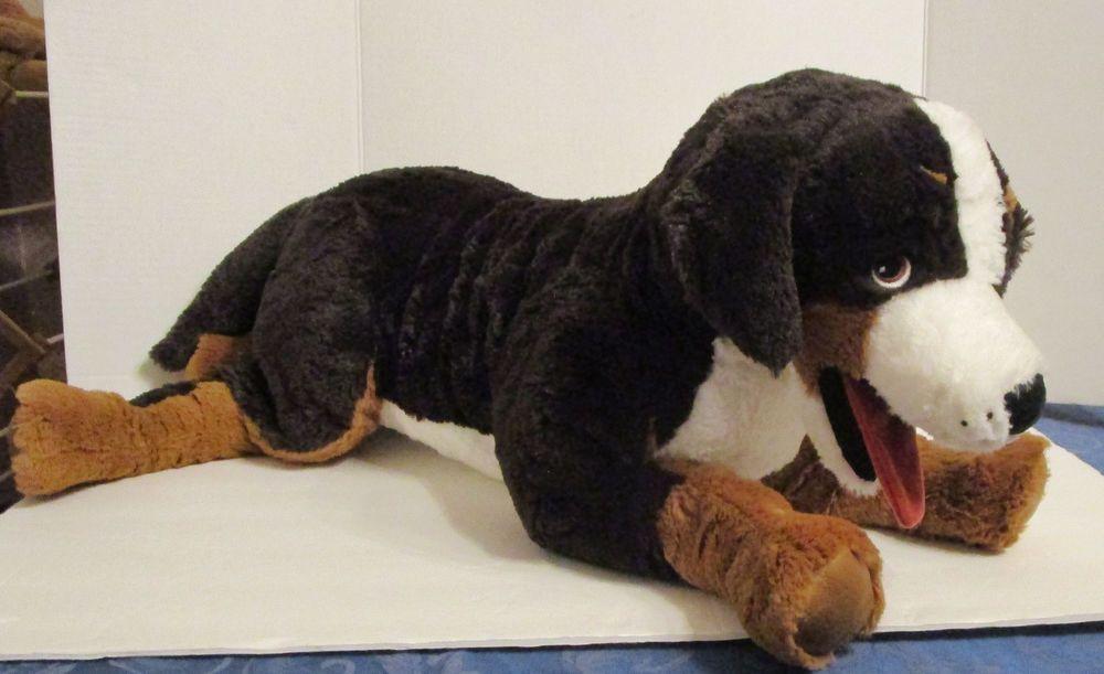 New Large Ikea Bernese Mountain Dog 26 Soft Plush Stuffed Animal