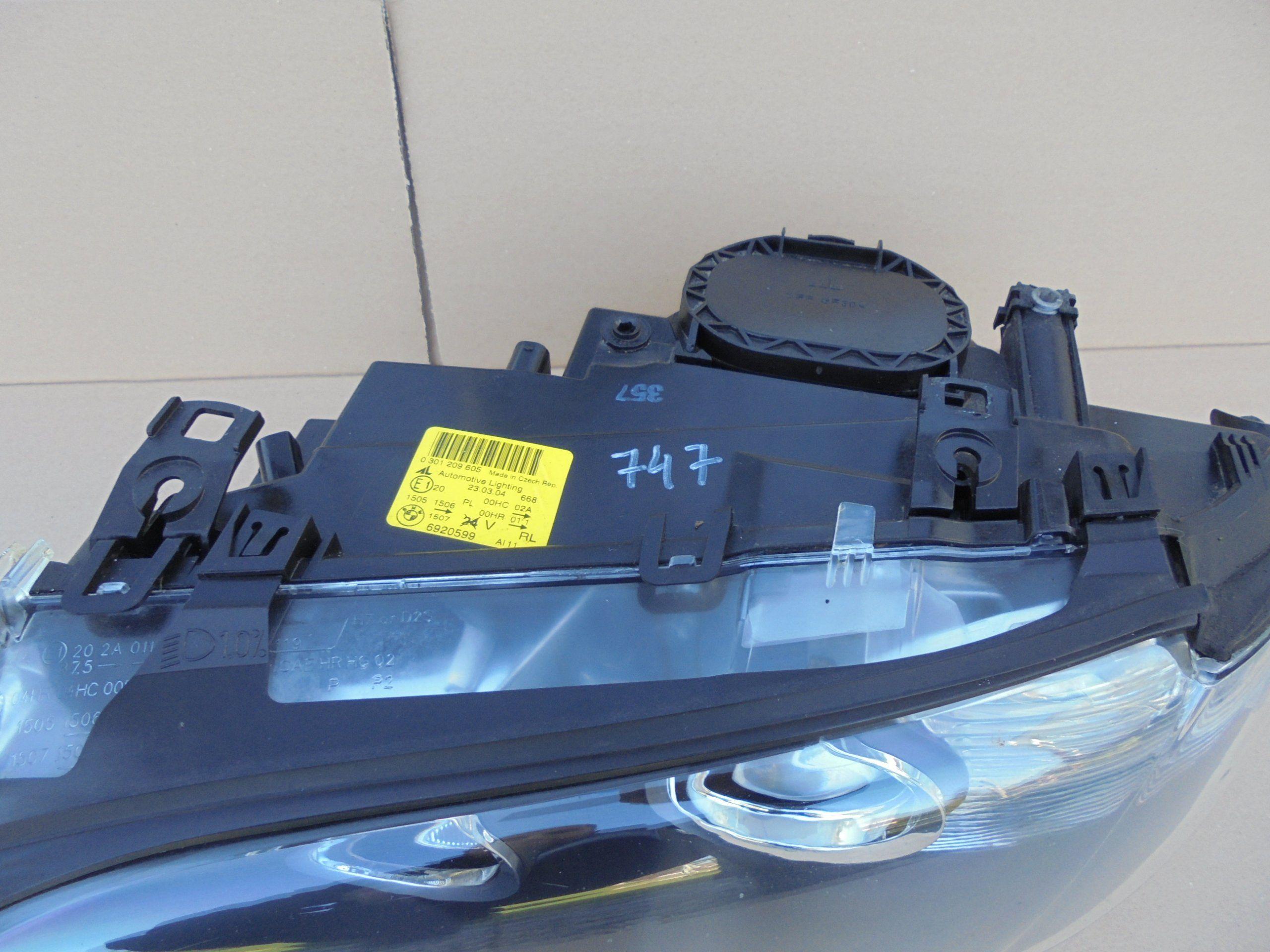089e4422c Lampa przód lewa BMW E46 coupe cabrio 02-06 - 7125017096 - oficjalne  archiwum allegro