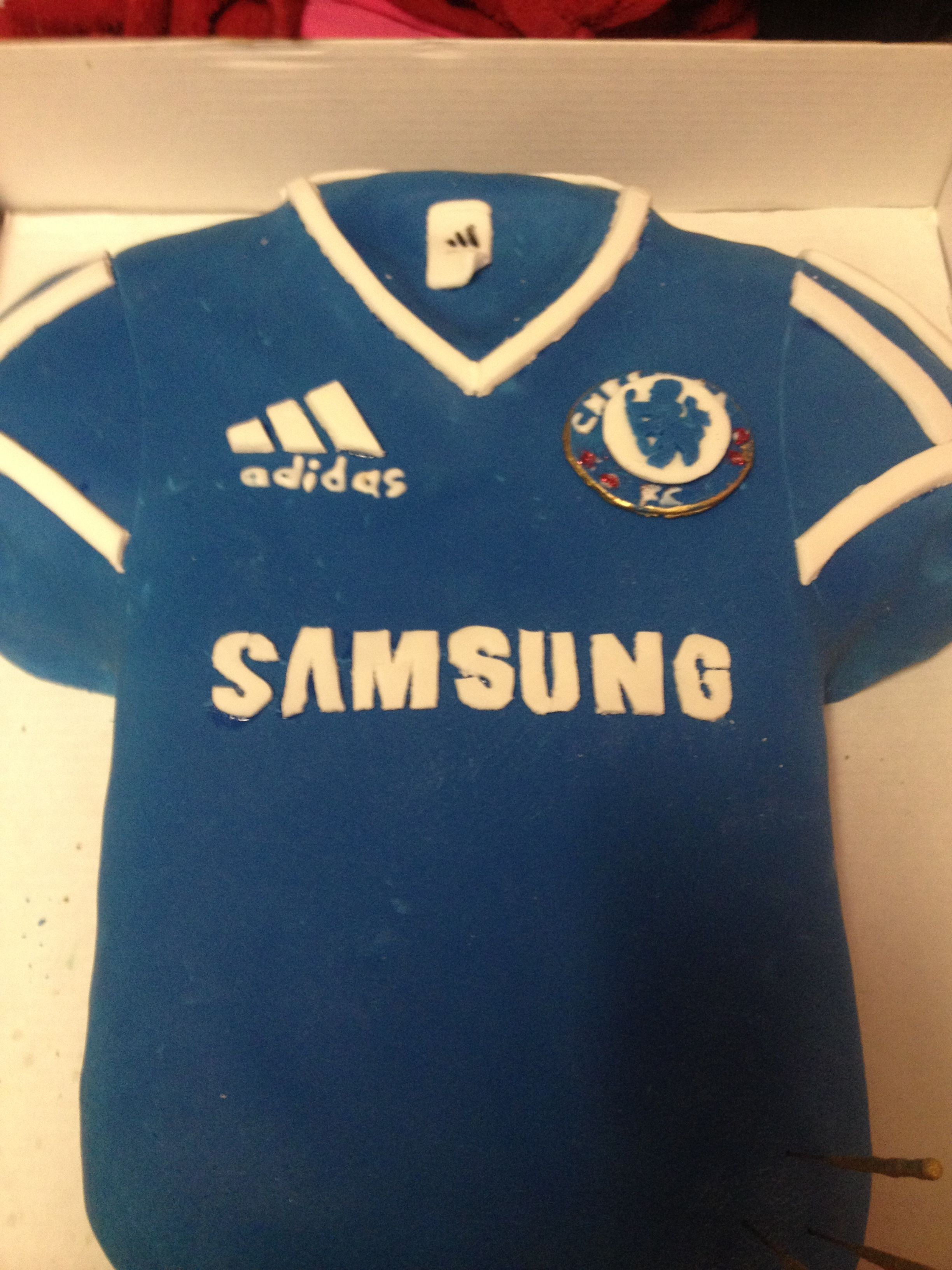 premium selection 08ddd 412cd Chelsea football shirt cake (current season)  