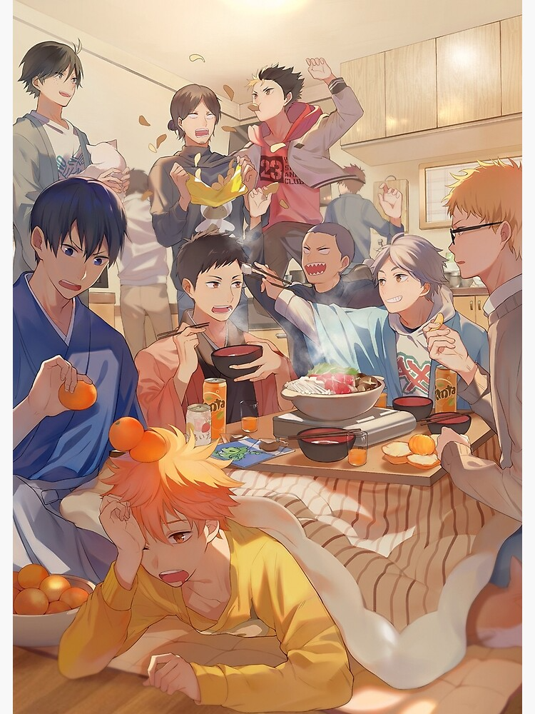 Karasuno Team Poster by terpres