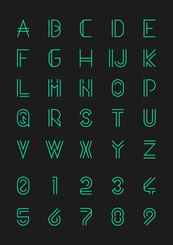 Quasith - Free Font by Egidio Filippetti, via Behance