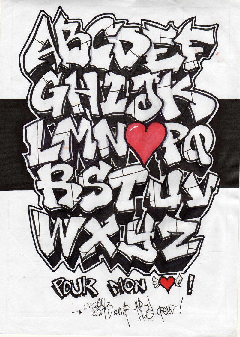 Grafitti Letters Graffiti Lettering Alphabet Cool Alphabet Letters Graffiti Writing Graffiti Names