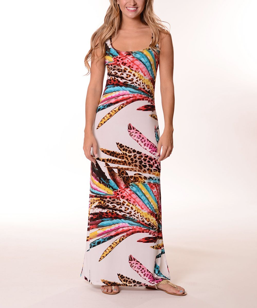 Yellow u brown abstract leopard maxi dress maxi dresses leopards