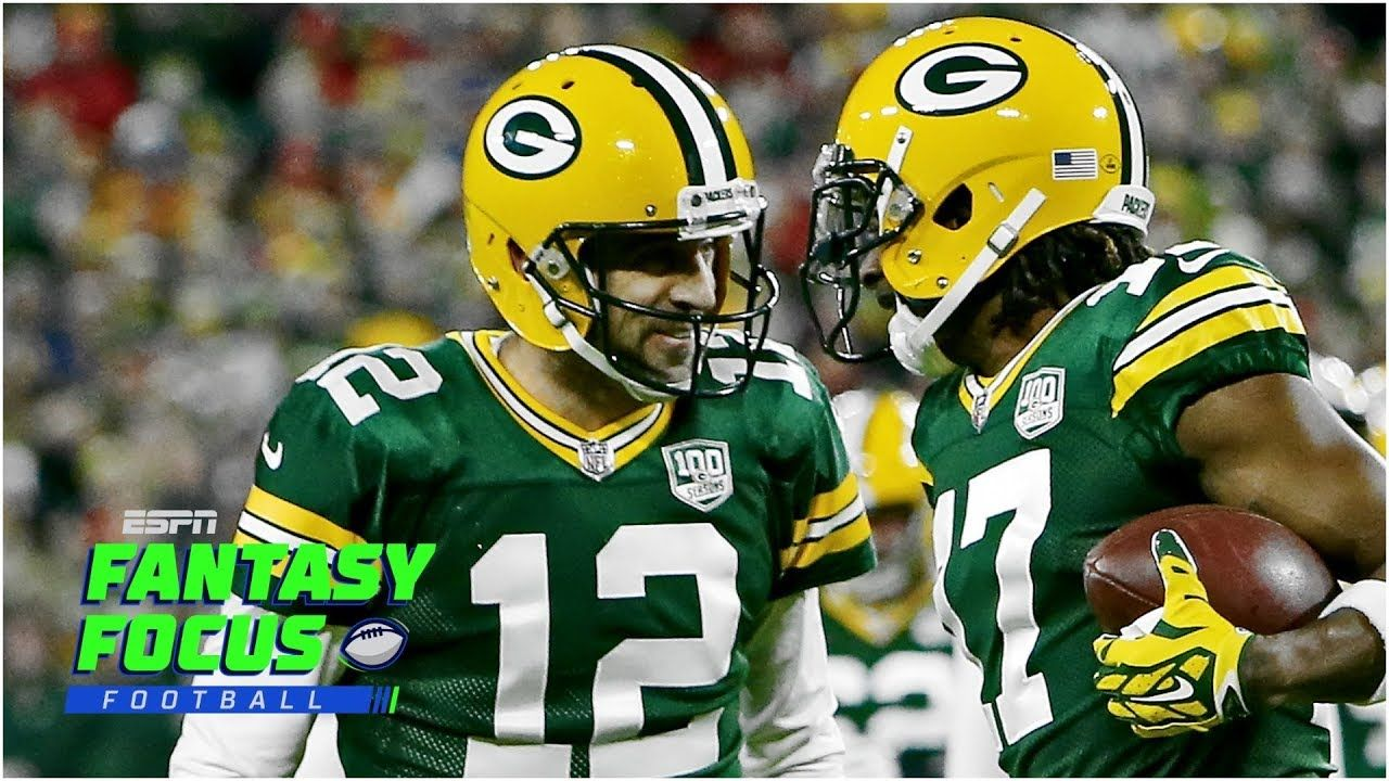 Fantasy Focus Live Bears Vs Packers Week 1 Preview Packers Basketball News Football Helmets